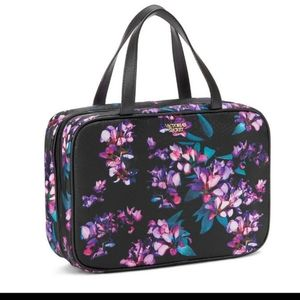 Victoria's Secret Midnight Blooms Jetsetter bag
